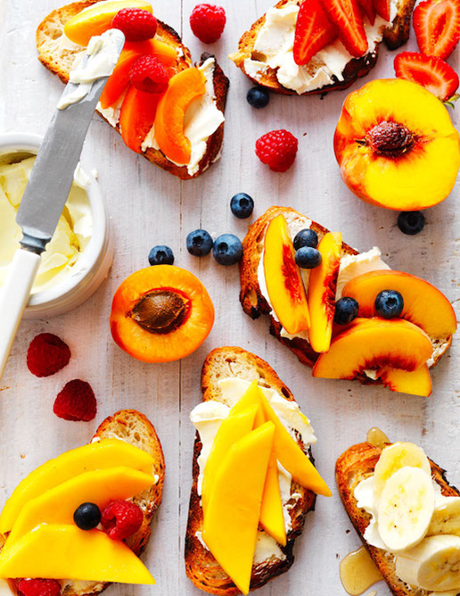 05 fresh for Kids annette forrest food stylist Summer-fruit-toast-toppers