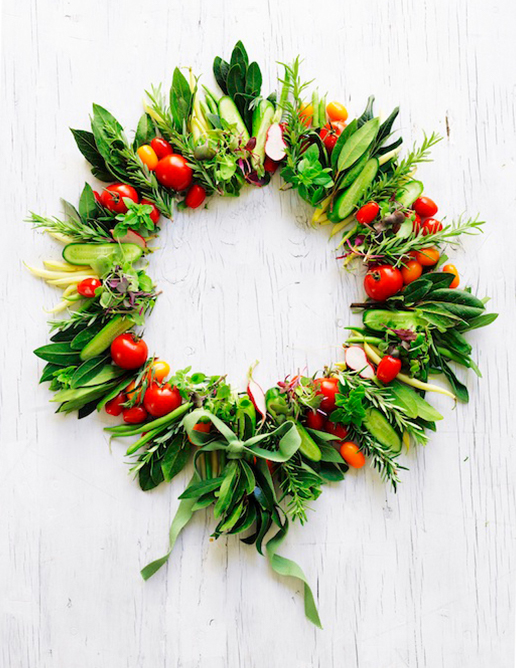 12 Christmas-annette forrest food stylist 08-xmas vegetable wreath